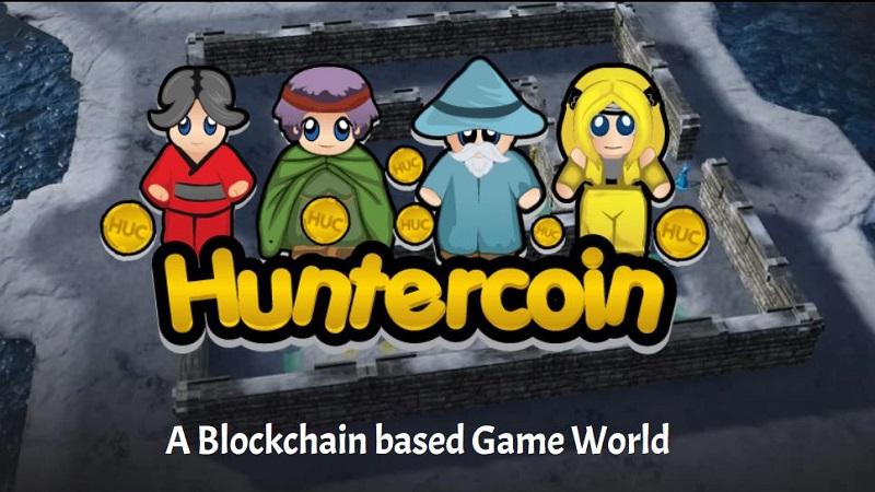 real-money-earning games-huntercoin